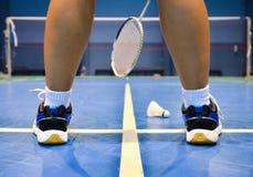 Badmintonhof royalty-vrije stock foto
