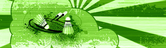 Badmintonnachrichten Stockbilder