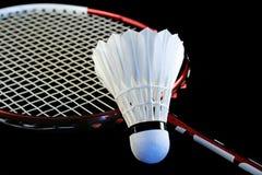 badmintonracket Arkivfoton
