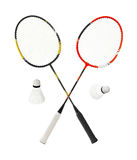 Badmintonracket Stock Afbeelding