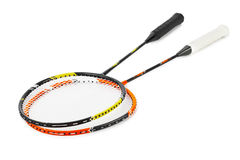 Badmintonracket Royalty-vrije Stock Afbeeldingen