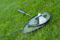 Badmintonrackets Stock Afbeeldingen