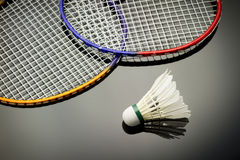 Badmintonsatz Stockbild