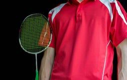 Badmintonspelare Arkivfoto