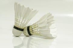 Badmintonsport royalty-vrije stock afbeeldingen