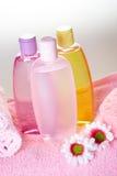 badomsorgsskönhetsmedel fotografering för bildbyråer