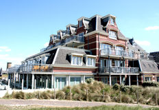Badpaviljoen Domburg restaurant Royalty Free Stock Photo