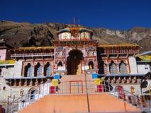 Badrinath świątynia Fotografia Royalty Free