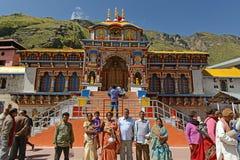 Badrinath tempel fotografering för bildbyråer