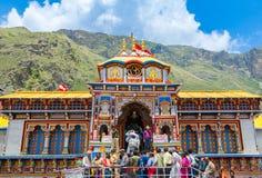 Badrinath-Tempel, Uttarakhand, Indien lizenzfreie stockbilder