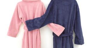 badrockar som snuggling Royaltyfri Bild