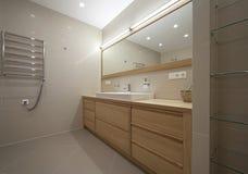 badrumformgivare arkivbild