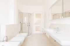 badrumhotell inom lyx Royaltyfri Foto