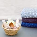 badrumskönhetsmedel Royaltyfria Foton
