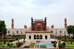badshahi拉合尔清真寺 库存图片