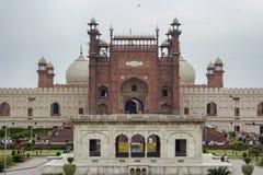 Badshahi清真寺,拉合尔,巴基斯坦 免版税库存图片