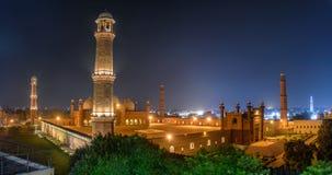 Badshahi Masjid拉合尔,旁遮普邦巴基斯坦 免版税库存图片