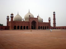 Badshahi masjid Royalty Free Stock Photos