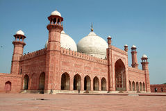 Badshahi masjid royalty free stock images