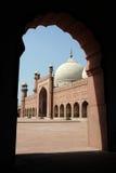 Badshahi masjid Stock Afbeeldingen