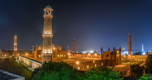Badshahi Masjid Lahore, Punjab Pakistan Immagine Stock Libera da Diritti