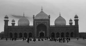 Badshahi Moschee stockbild