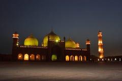 Badshahi Mosque Stock Photo