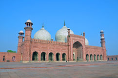 Badshahi Mosque Stock Image