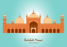 Badshahi Mosque in Lahore, Pakistan Stock Photo