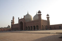 Badshahi Mosque Lahore, Pakistan One of the most famous landmarks and tourist destination of Pakistan built in 16th century is als Royalty Free Stock Photography
