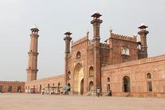Badshahi Mosque Pakistan Stock Photo