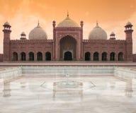 badshahilahore moské Royaltyfri Foto