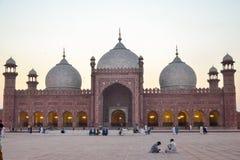 Badshahimoskee, Lahore, Punjab, Pakistan stock fotografie