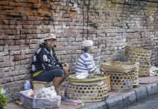 Badung传统市场,巴厘岛-印度尼西亚 免版税库存图片