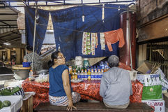 Badung traditional market, Bali - Indonesia. Stock Photography