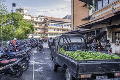 Badung traditional market, Bali - Indonesia. Royalty Free Stock Images