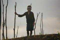 Baduy или Badui стоковая фотография