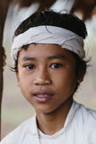 Baduy or Badui. Baduy Badui Dalam people resist foreign influences and vigorously preserve their ancient way of life Stock Photo
