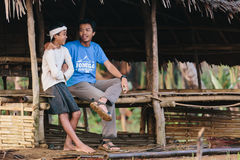 Baduy or Badui. Baduy Badui Dalam people resist foreign influences and vigorously preserve their ancient way of life Stock Images