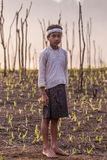 Baduy or Badui. Baduy Badui Dalam people resist foreign influences and vigorously preserve their ancient way of life Royalty Free Stock Photos