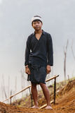 Baduy or Badui. Baduy Badui Dalam people resist foreign influences and vigorously preserve their ancient way of life Royalty Free Stock Photography