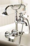 badvattenkranen badar Royaltyfri Bild