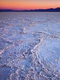 Badwater,死亡谷国家公园,加利福尼亚 免版税库存照片