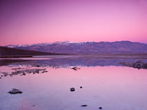 Badwater Photographie stock