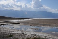 badwater Obrazy Royalty Free