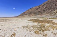 Badwater basen w Śmiertelnej dolinie, usa Obraz Royalty Free