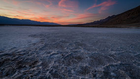 Badwater Basin. At Deadvalley National Park USA Royalty Free Stock Photo