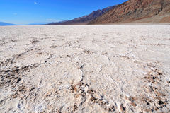 Badwater Basin in Death Valley, California Stock Photo