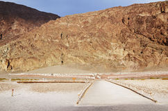 Badwater Basin, Death Valley Stock Image