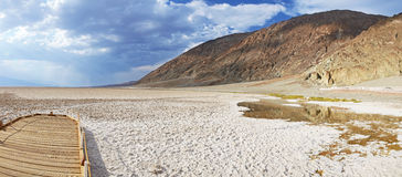 Badwater Basin, Death Valley Royalty Free Stock Photo